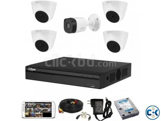 CCTV Package Dahua XVR1A08 8-CH DVR 500GB HDD | ClickBD large image 0