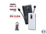 REMAX PPL-11 Linon 3J 10000mAh Power Bank With Cable