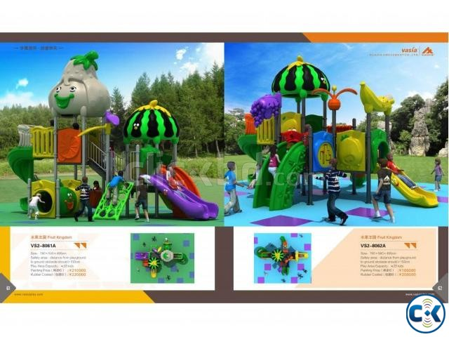 CHILDREN INDOOR OUTDOOR PLAYGROUND ITEMS | ClickBD large image 0