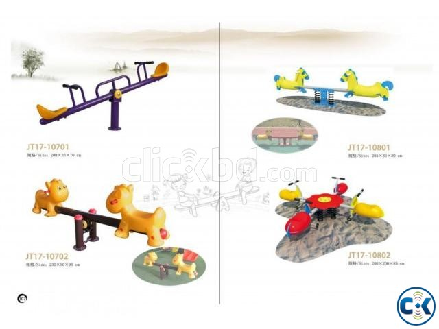CHILDREN INDOOR OUTDOOR PLAYGROUND ITEMS | ClickBD large image 2
