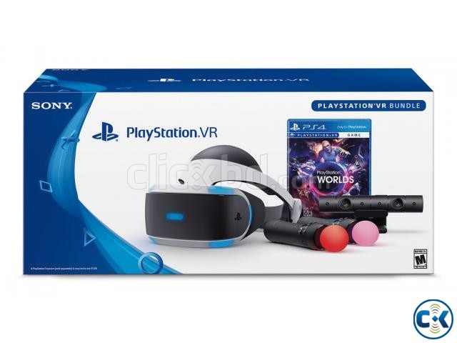 Playstation VR complete set with 2 titles | ClickBD large image 0