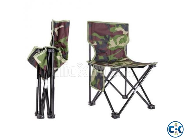 Portable Folding Travel Chair Folding Chair for Travel | ClickBD large image 0