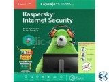 Kaspersky Internet Security 3 User 1 year Genuine License