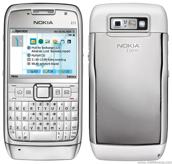 Brand new Nokia E71 with box 12 month warenty | ClickBD large image 0