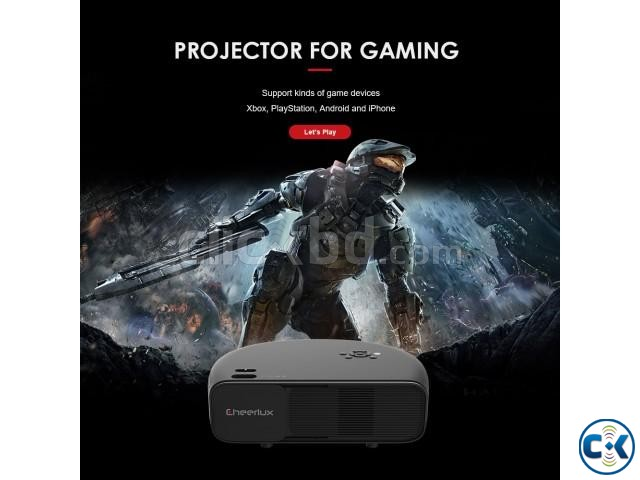 Cheerlux CL760 3200-Lumens 1280p Multimedia Projector | ClickBD large image 0