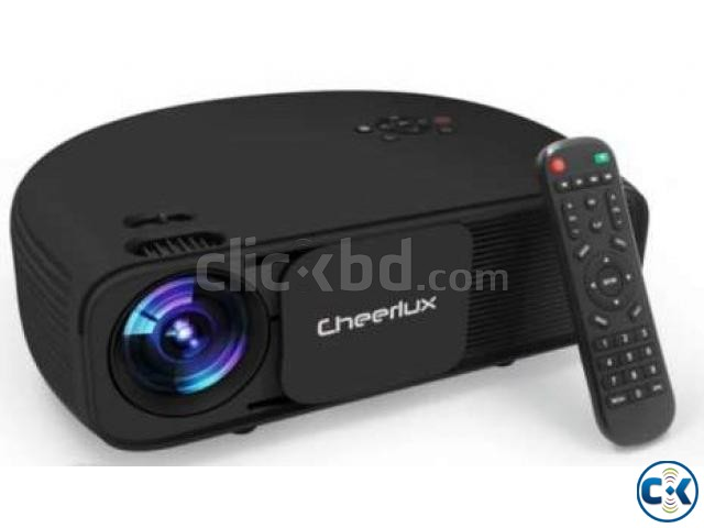 Cheerlux CL760 3200-Lumens 1280p Multimedia Projector | ClickBD large image 1