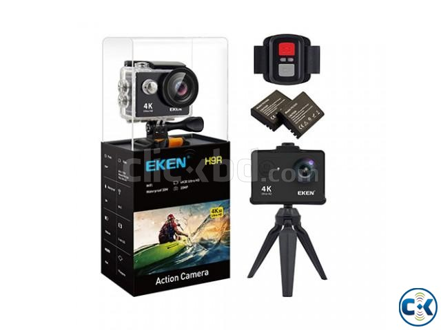 EKEN H9R 4K WiFi Waterproof Sports Action Camera - BRAND NEW | ClickBD large image 1