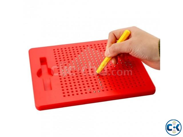 Mini MagPad Magnetic Drawing Board Magnetic Drawing Pad | ClickBD large image 0