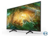 SONY X75H 55 INCH 4K UHD LED ANDROID SMART TV
