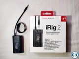 IRig 2 is up for sale
