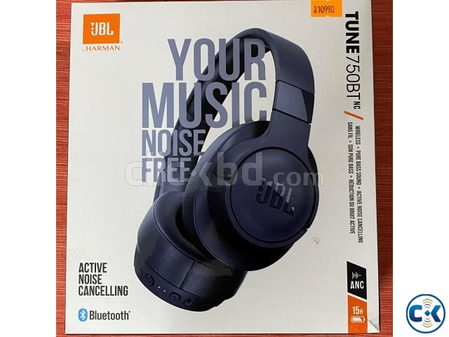 JBL TUNE 750 BTNC Wireless Over-Ear ANC Headphones | ClickBD large image 2