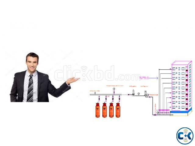 LPG Reticulated System | ClickBD large image 2