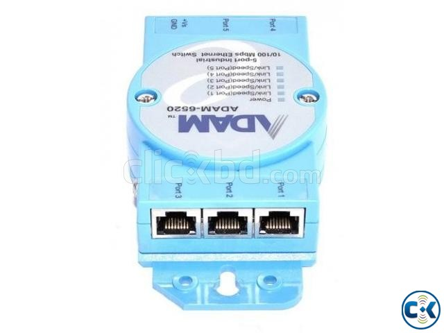 ADAM-6520 5-port Industrial 10 100 Mbps Ethernet Switch | ClickBD large image 1