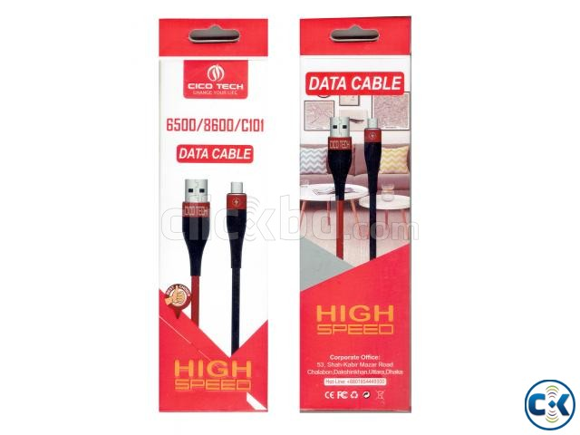 Cico Tech Fast Charging Data Cable | ClickBD large image 2