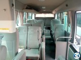 Mini bus will be rented daily and monthly