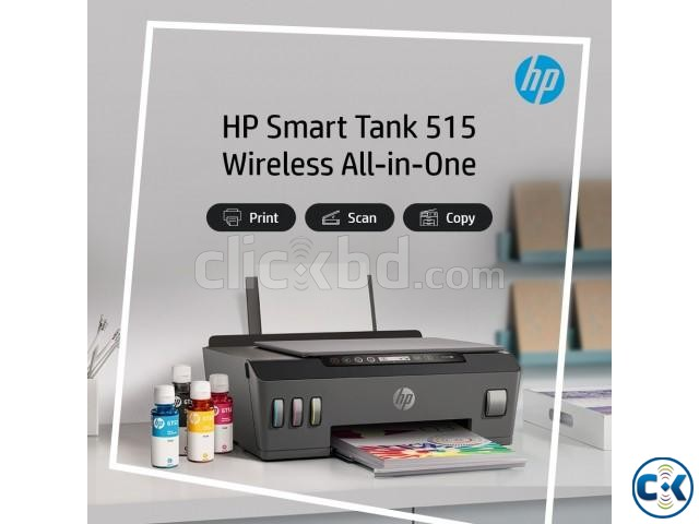 HP Smart Tank 515 Wireless All-in-One Printer | ClickBD large image 0
