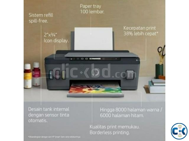 HP Smart Tank 515 Wireless All-in-One Printer | ClickBD large image 1