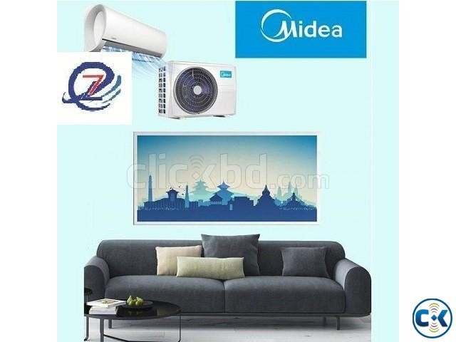 MIDEA CHIGO 2.0 Ton Split AC 24000 BTU Stock Available | ClickBD large image 0