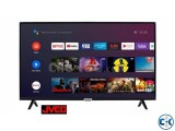 JVCO BRAND 43 INCHES 4K SMART ANDROID TV WITH VOICE CONTROL