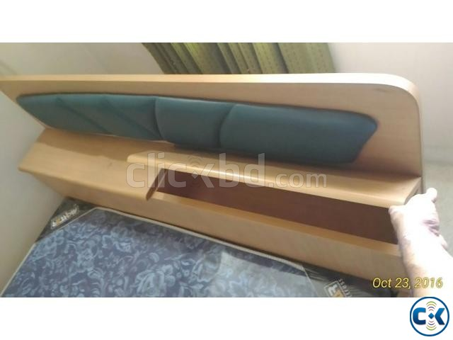 OTOBI Semi Double Bed with new mattress | ClickBD large image 0