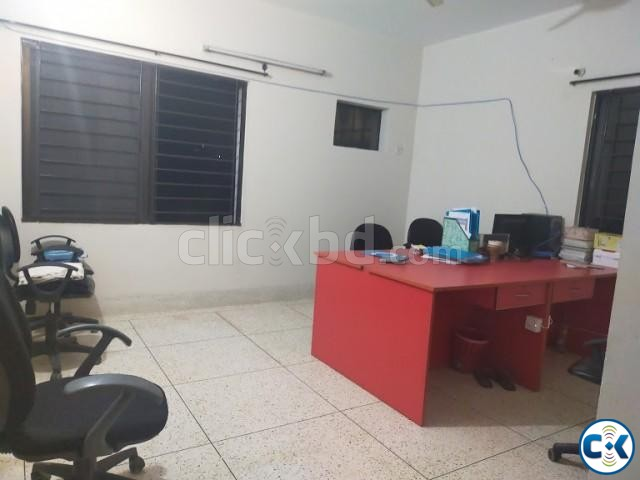 2100sft Beautiful Office Space For Rent Banani | ClickBD large image 1