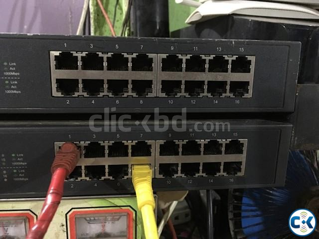 TP-Link TL-SG1016D 16-Port Gigabit Switch 2 pcs | ClickBD large image 2