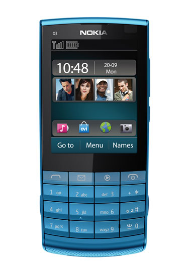 NOKIA X3-O2 5MP BRAND NEW 1 YEAR WARENTY | ClickBD large image 0