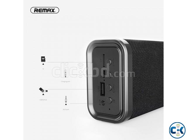Remax RB-M33 Bluetooth Fabric Series Portable Wireless Speak | ClickBD large image 1