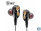 QKZ CK8 Dual Driver In-Ear Earphone With Stereo Music