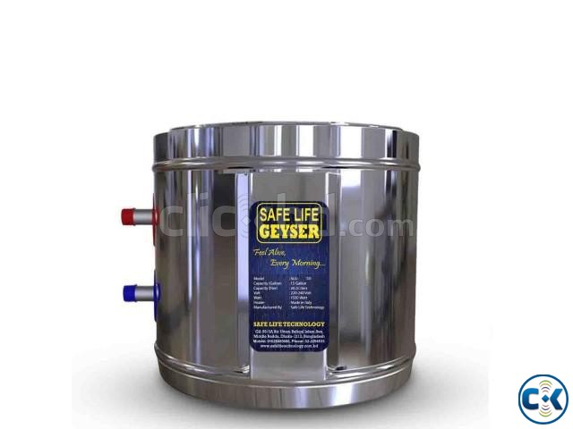 Safe Life Geyser SLG-15-BSS 68 Liter Water Heater | ClickBD large image 0