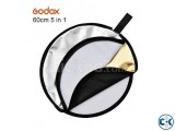 Godox 60cm 24 5 in 1 Collapsible 5 Colors Light Reflector