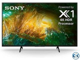 43 inch SONY X7500H VOICE CONTROL ANDROID 4K TV
