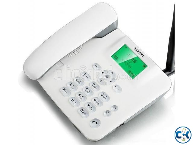 F316 Land Phone Single Sim With Keypad Light | ClickBD large image 0