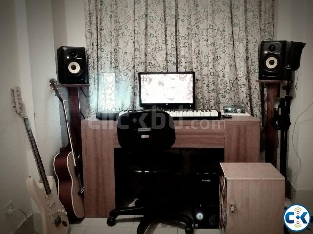 Studio Setup and all Instruments | ClickBD large image 0
