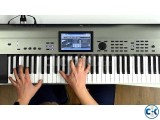 KORG Krome-EX Touchscreen Workstation Brand New Intact