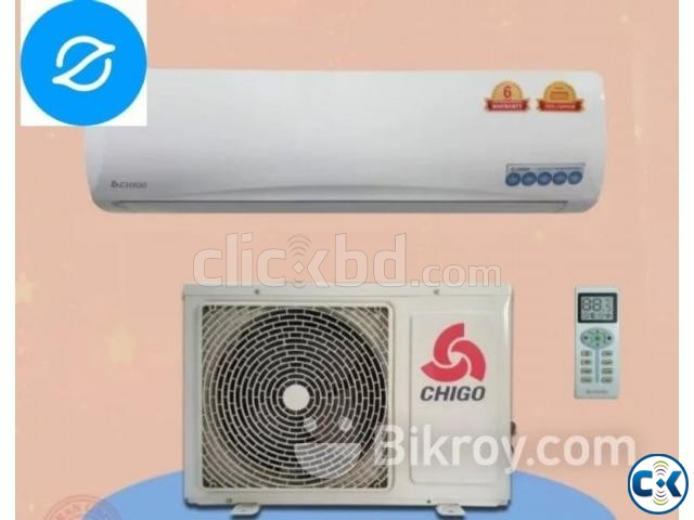 FJ-18GW-1.5 Ton Chigo Energy Saving Split Type AC Brand New | ClickBD large image 0