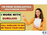 SCHOLASTICA ENGLISH MEDIUM HOME TUTOR