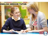 ENGLISH MEDIUM HOUSE TEACHER AVAILABLE