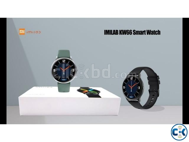 Xiaomi IMILAB KW66 Smart Watch - Black | ClickBD large image 1