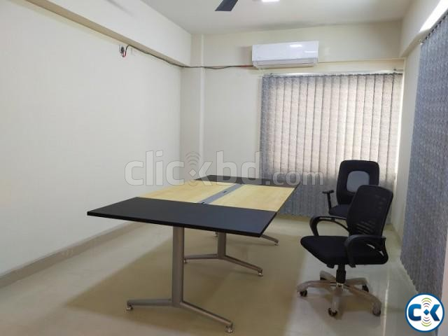 2300sft Beautiful Office Space For Rent Banani | ClickBD large image 1