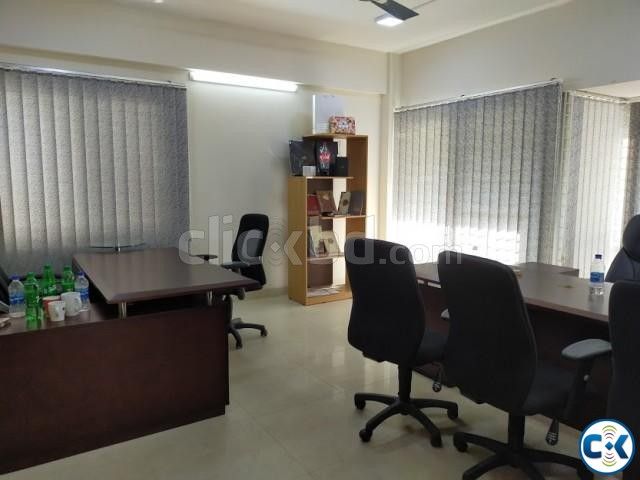2300sft Beautiful Office Space For Rent Banani | ClickBD large image 4