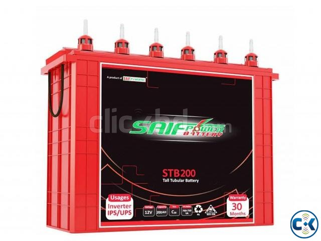 ALTER 2KVA IPS-200AH Tall Tubular 2ps Battery Full Package | ClickBD large image 1