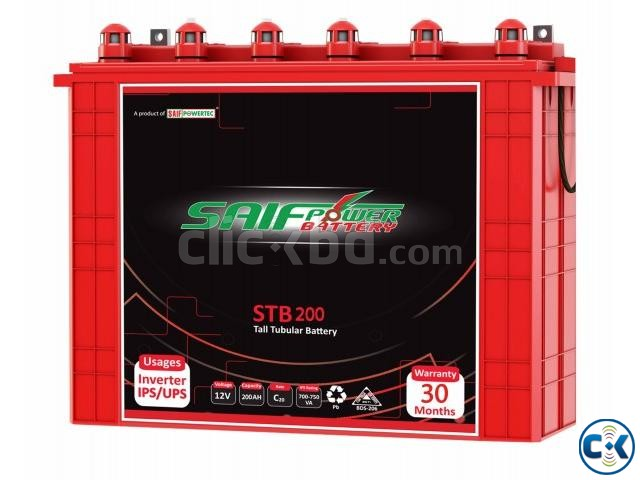 ALTER 2KVA IPS-200AH Tall Tubular 2ps Battery Full Package | ClickBD large image 2