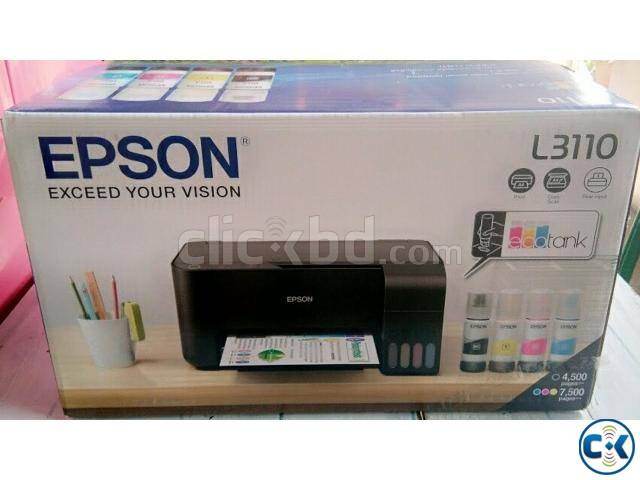 Epson L3110 All-in-One Ink Tank Printer | ClickBD large image 0