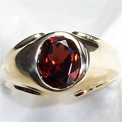 Garnet stone ring from Global Sky Shop | ClickBD large image 0