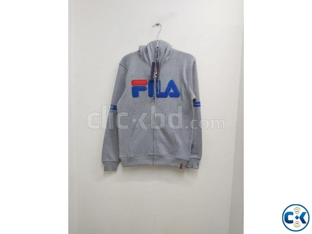 FILA Men s exclusive winter hoodies | ClickBD large image 0