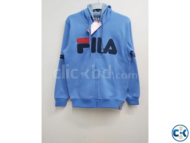 FILA Men s exclusive winter hoodies | ClickBD large image 1