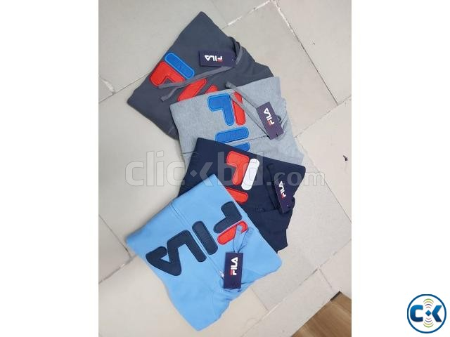FILA Men s exclusive winter hoodies | ClickBD large image 2