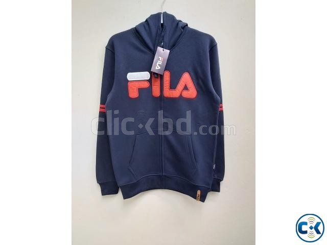 FILA Men s exclusive winter hoodies | ClickBD large image 3