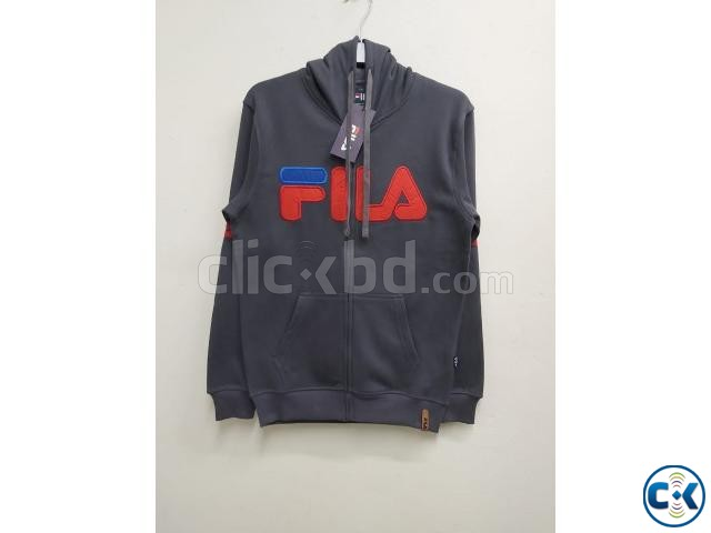 FILA Men s exclusive winter hoodies | ClickBD large image 4